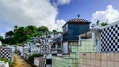 Guadeloupe - Morne-à-l'eau - Cimetière de Morne-à-l'eau