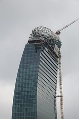 Construction @ Libeskind Tower @ CityLife @ Milan