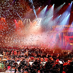 Carols at the Royal Albert hall with artificial snow by Peter Fox