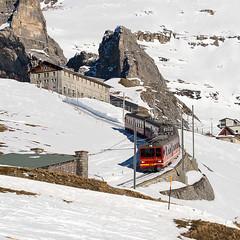 BDhe218, Eigergletscher - Kleine Scheidegg, 19.02.2015