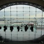 Waiting Lounge Charles de Gaulle Airport by John Reddington