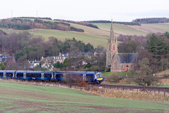 ScotRail and St Mary of Wedale, Stow