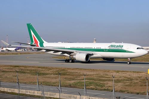 EI-EJL - Airbus A330-202 - Alitalia 🇮🇹 @ MXP