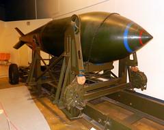 22,000lb 'Grand Slam' bomb, RAF Museum, Hendon.