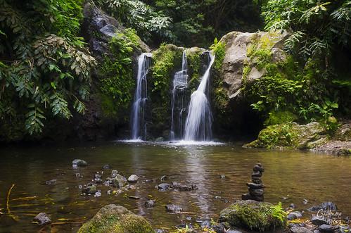 cascade Parque Natural de Ribeira dos Calderos