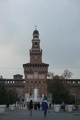 Torre del Filarete @ Piazza Castello @ Castello Sforzesco @ Milan