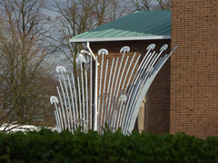 Conduct sculpture at Solihull School