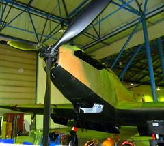 Fairey Battle (L5343) nose detail,, RAF Museum, Hendon.