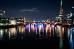Colourful Holy Night in London