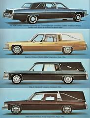 1978 Cadillac Professional Cars
