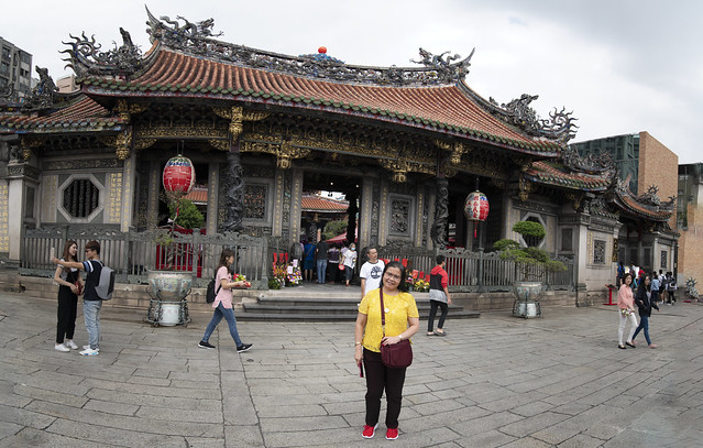 Lungshan Temple, Taipei, Taiwan.