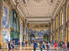 Sao Bento Railway Station, Oporto