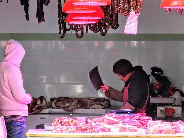 Butcher shop, #Shanghai