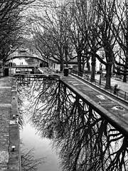 Atmosphère - Canal Saint-Martin, Paris - Photo of Villemomble