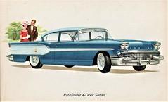 1958 Pontiac Pathfinder 4-Door Sedan (Canada)