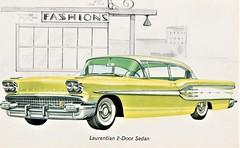 1958 Pontiac Laurentian 2-Door Sedan (Canada)