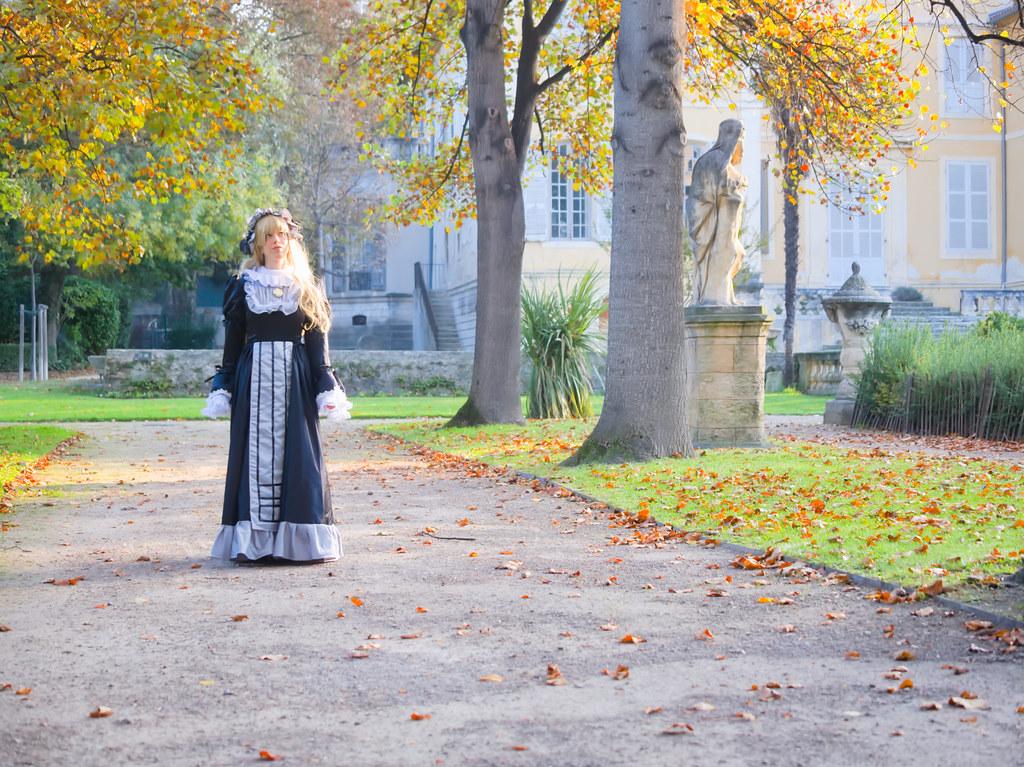 related image - Shooting Victorique de Blois - Gosick - Jardin de la Magalone - Marseille -2019-11-09- P1900733