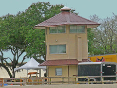 Scoring Tower for  Equestrian Events, Florida State Fair Grounds, Tampa, Florida