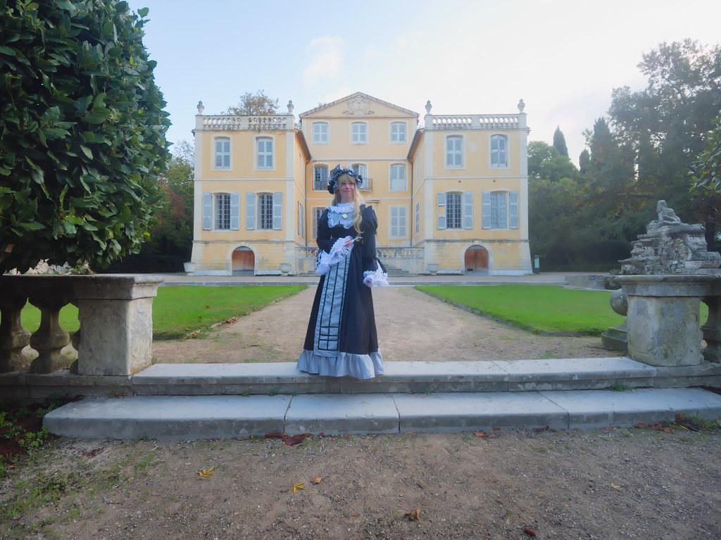 related image - Shooting Victorique de Blois - Gosick - Jardin de la Magalone - Marseille -2019-11-09- P1900666