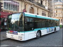 Man NL 223 – RATP (Régie Autonome des Transports Parisiens) / STIF (Syndicat des Transports d'Île-de-France) n°9181