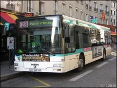 Man NL 223 – RATP (Régie Autonome des Transports Parisiens) / STIF (Syndicat des Transports d'Île-de-France) n°9022