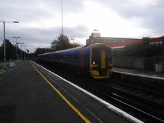 First Great Western DMU 158957 at Hove