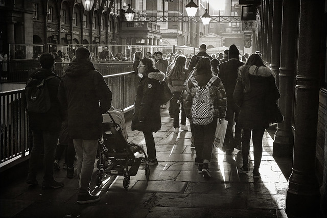 Late afternoon sun - Covent Garden, London