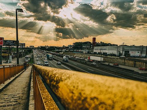 Final de tarde em Guarulhos...