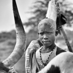 Mundari Cattle Boy
