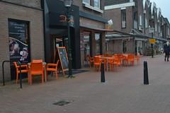 Oranje stoelen in Ommen (136FJAKA_3376)