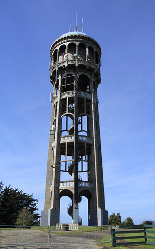 Bastia Hill water tower