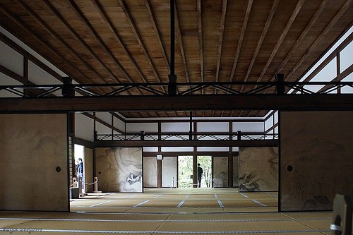 The Hoyo of the Ryoanji Temple (龍安寺 or 竜安寺, Ryōanji), Kyoto, Japan