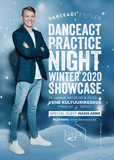 DanceAct Practice Night Winter 2020 Showcase