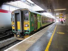 London Midland DMU 153365 at Coventry