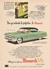 1953 Monarch Hardtop Ad (Canada)