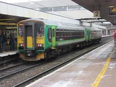 London Midland DMU 153334 at Coventry