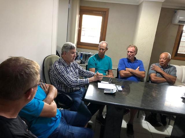 31/01/2020 Reunião com proprietários em defesa da terra de Maquiné e Osório