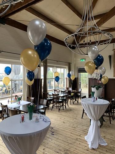Tafeldecoratie 3ballonne 't Hooghe Water Capelle aan den IJssel
