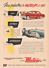 1951 Meteor Sedan Ad (Canada)