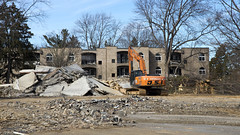 The Commons of McLean Demolition - January, 2020