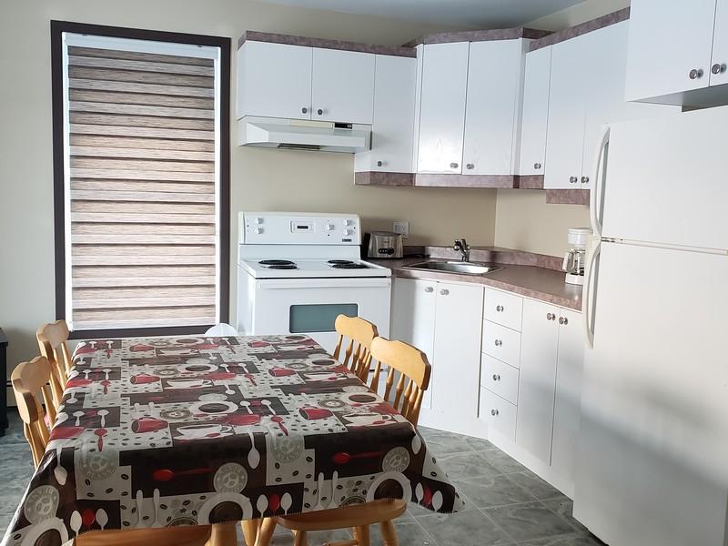 Condo; Unité du haut Camping Plage de la Baie (2)