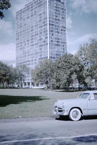 Found Photo - Commonwealth Promenade Apartments, Chicago