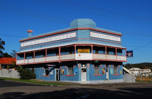 Racecourse Hotel, Wallsend, Newcastle, NSW.