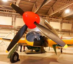 Hawker Tempest TT Mk.V (NV778) nose and radiator detail, RAF Museum, Hendon.