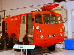Alvis Salamander fire fighting vehicle, RAF Museum, Hendon.