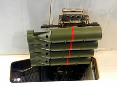 Short Sunderland Mk V (ML824) depth charge detail, RAF Museum, Hendon.