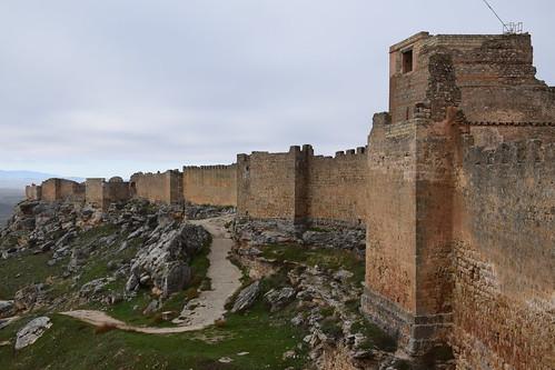 Castillo de Gormaz (Castilla y León, España, 6-12-2019)