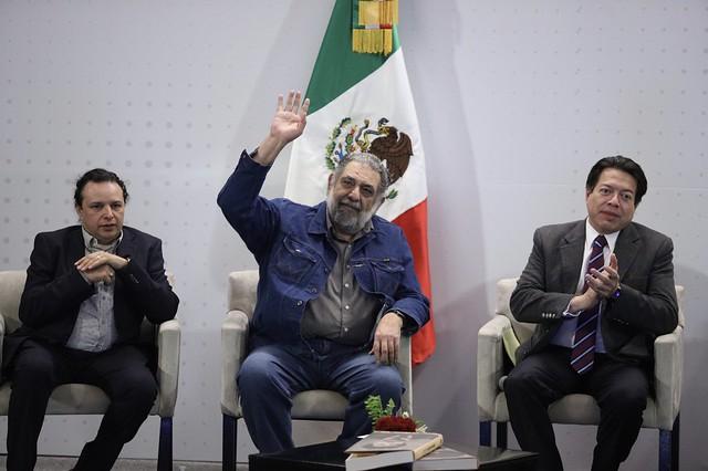 29/01/2020 Plenaria GP Morena. Encuentro John Ackerman y Pedro Miguel.
