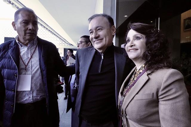 30/01/2020 Plenaria GP Morena. Encuentro con el Secretario de Seguridad, Alfonso Durazo Montaño