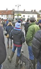 Boxing day hunt meet in Kirkbymoorside 2018